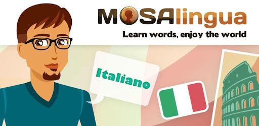 ZA DARMO App: Learn Italian with MosaLingua (4.6*) - Google Play