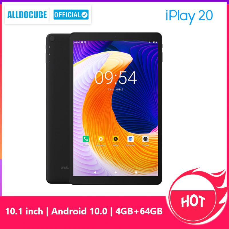 Tablet Alldocube iPlay20 4/64gb, 4G LTE, Android 10, GPS za 118.03$ z wysyłką