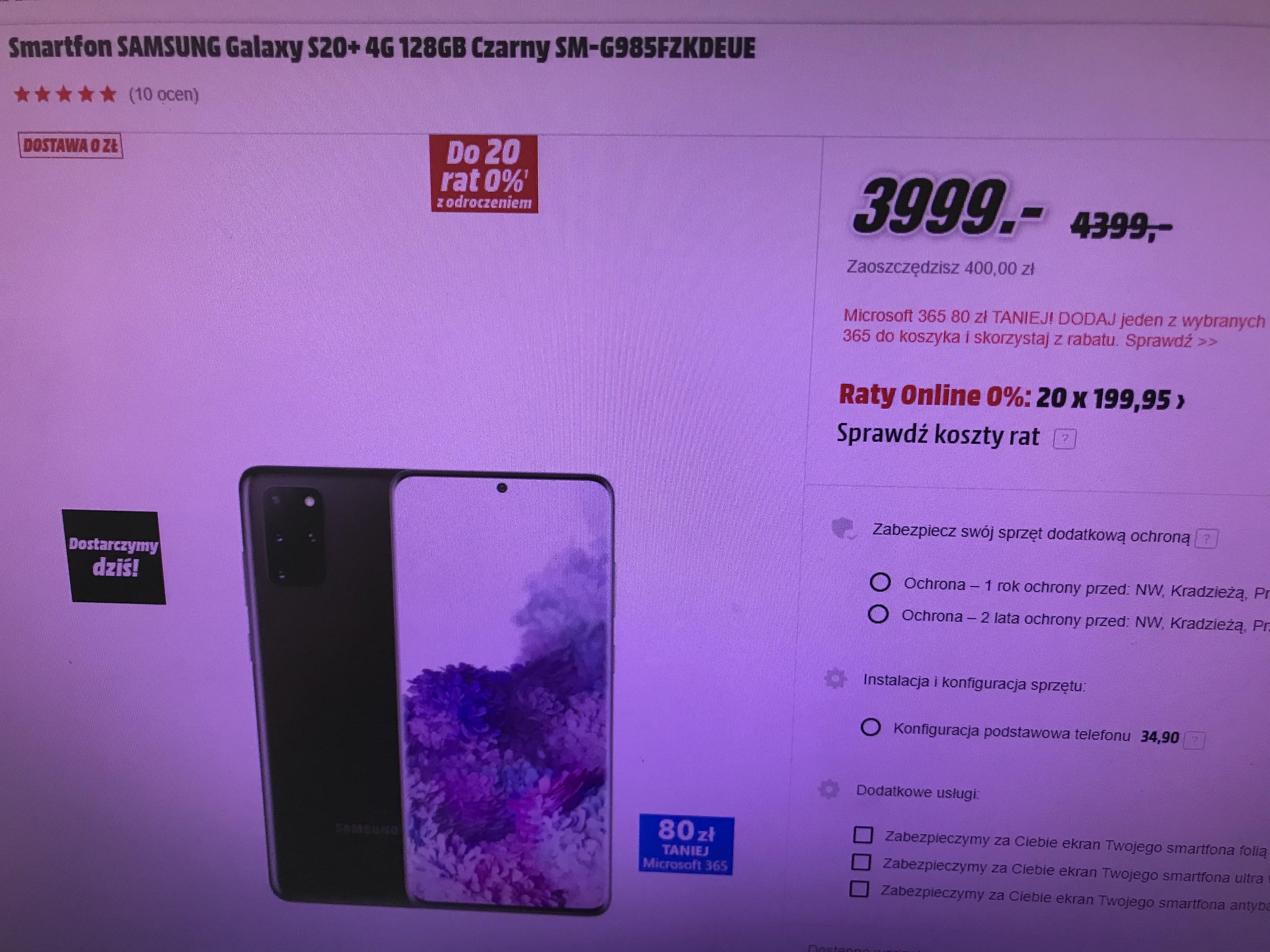 Samsung Galaxy S20+ za 3999 i Buds+ gratis