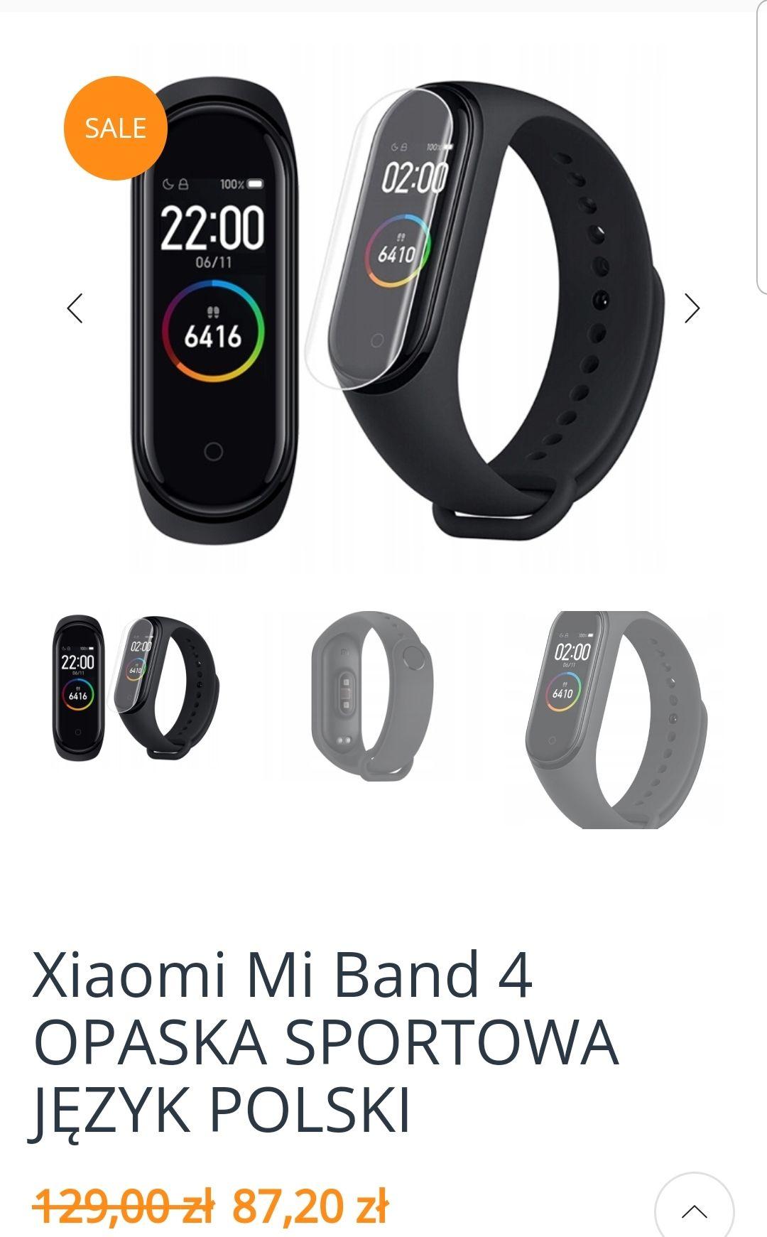 Xiaomi mi band 4 EU