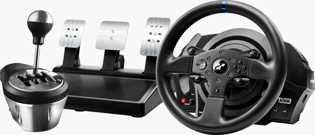 Kierownica Thrustmaster T300RS GT + dźwignia zmiany biegów TH8A (PC, PS4 - Force Feedback) @ Morele