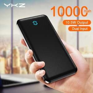 YKZ 10000mAh Power Bank USB-C, Micro-USB