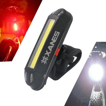 Lampka rowerowa XANES 500LM USB 2w1