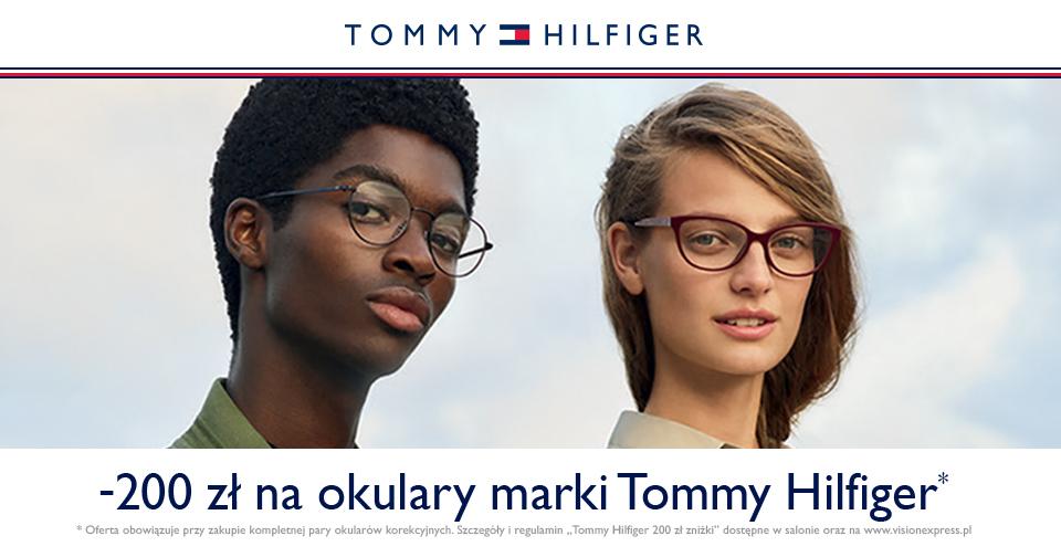 Vision Express -200zł na okulary Tommy Hilfiger.