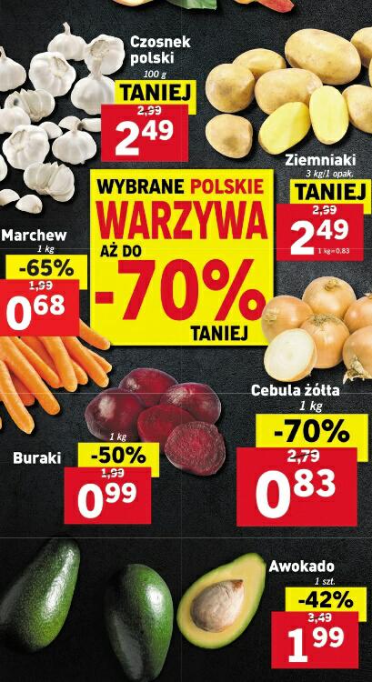 Wybrane polskie warzywa aż do -70% taniej @Lidl