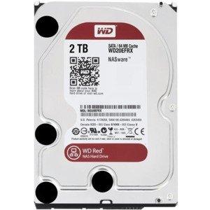 Dysk twardy Western Digital RED 3.5'' HDD 2TB 5400RPM SATA 6Gb/s 64MB | WD20EFRX