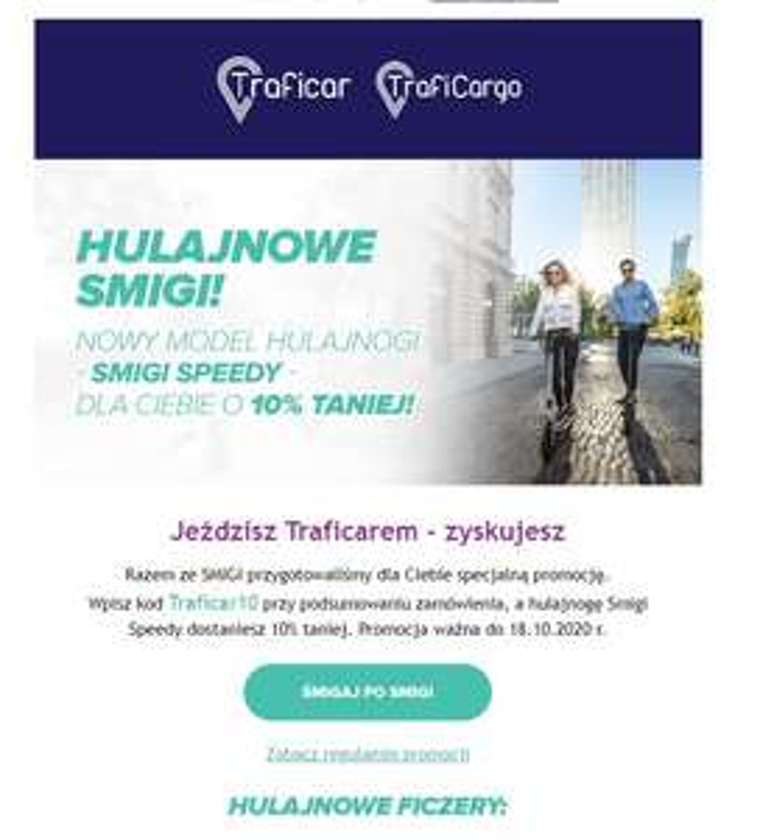 Hulajnogi Smigi Speedy -10%