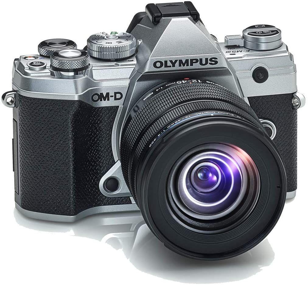 Aparat Olympus OM-D E-M5 Mark III Srebrny + 12-45mm PRO @Amazon.de