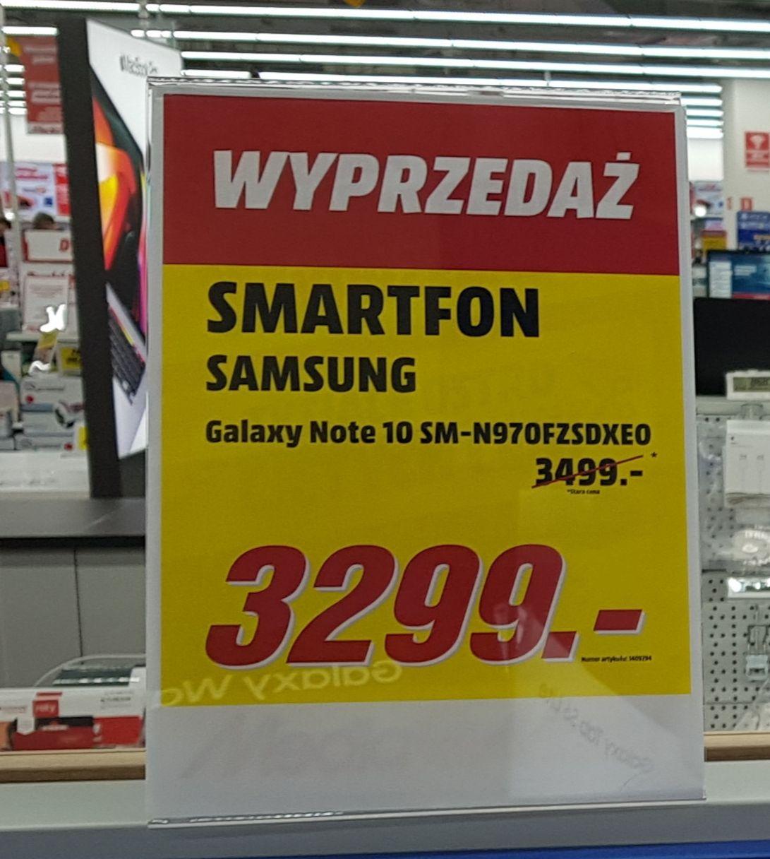 Smartfon Samsung Galaxy Note 10, Samsung Galaxy S10+ 3099zł