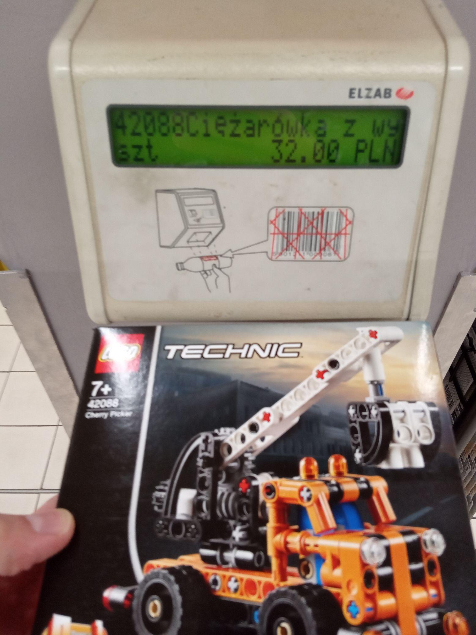 LEGO TECHNIC 42088 Ciężarówka z wysięgnikiem Carrefour Oświęcim