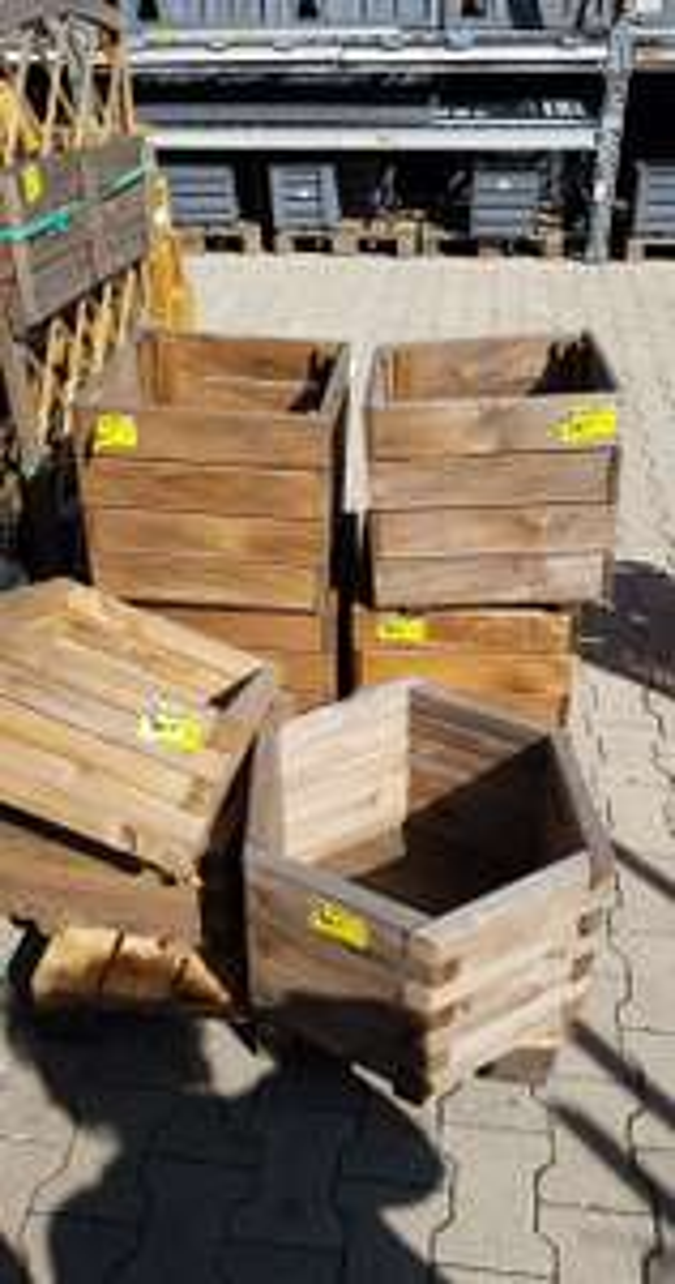 Donice drewniane OBI Rybnik