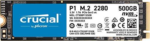 Dysk SSD Crucial P1 500GB NVMe M. 2