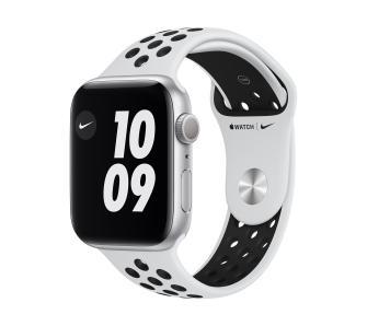 Apple Watch Nike Series 6 GPS 44mm (czarno-biały)