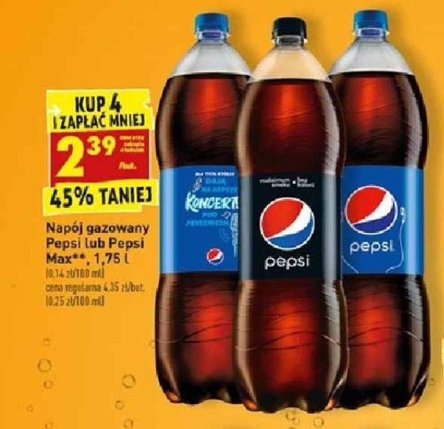 Pepsi 1.75l za 2.39zł/szt przy zak 4 - Biedronka