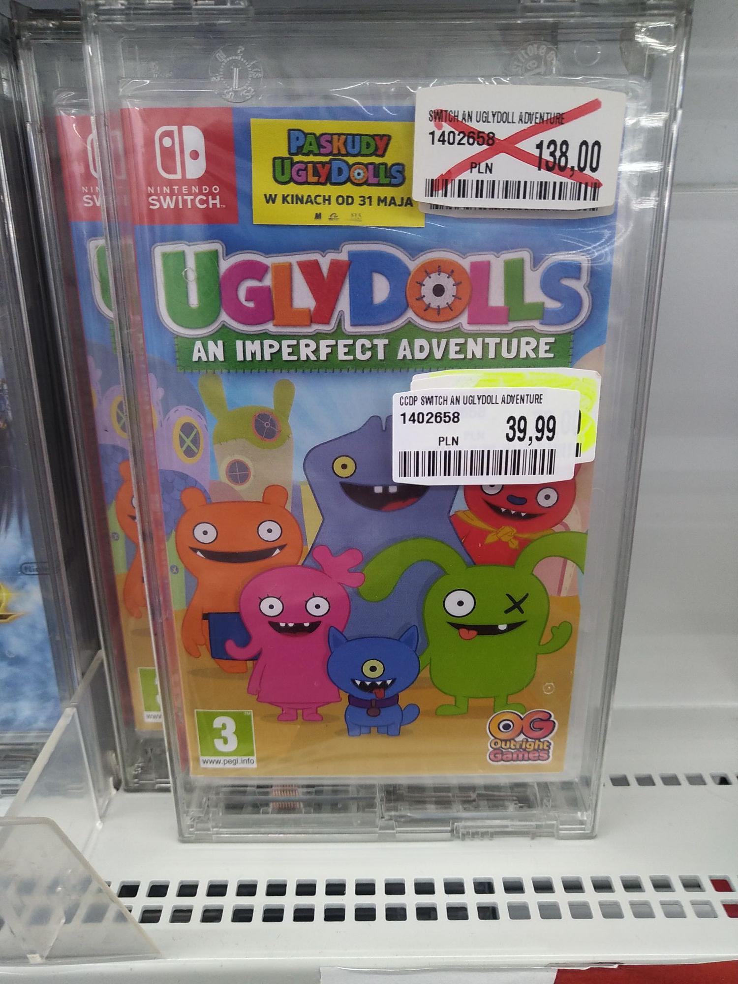 Ugly Dolls switch / vr kit - okazja!