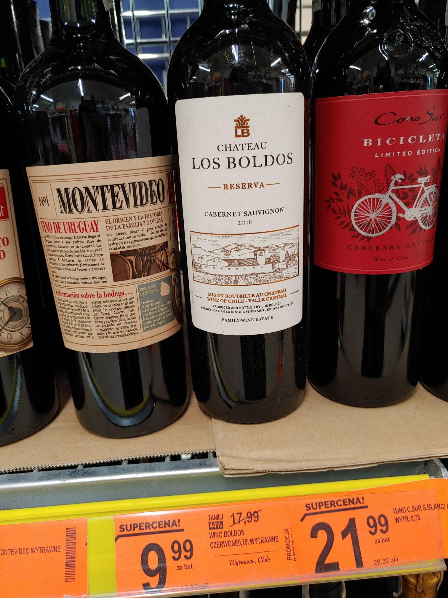 Wino Los Boldos Wytrawne Biedronka