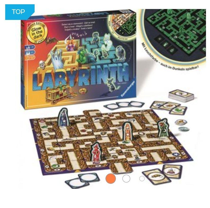 Gra planszowa Labyrinth (świecąca w ciemności)
