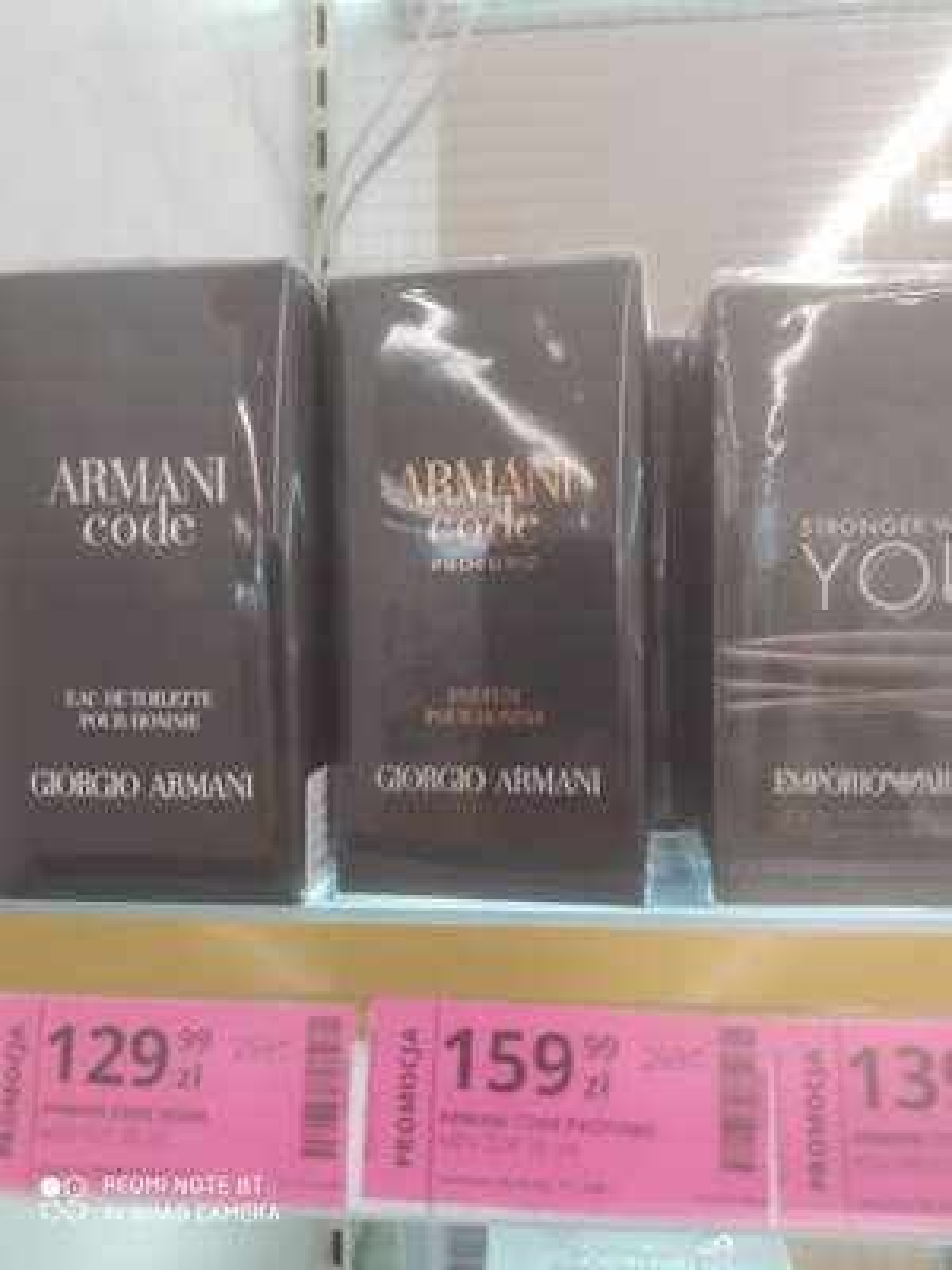 Perfumy Armani Code