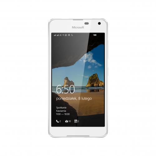 W samo południe - Smartfon Microsoft Lumia 650 DS 16GB Biały