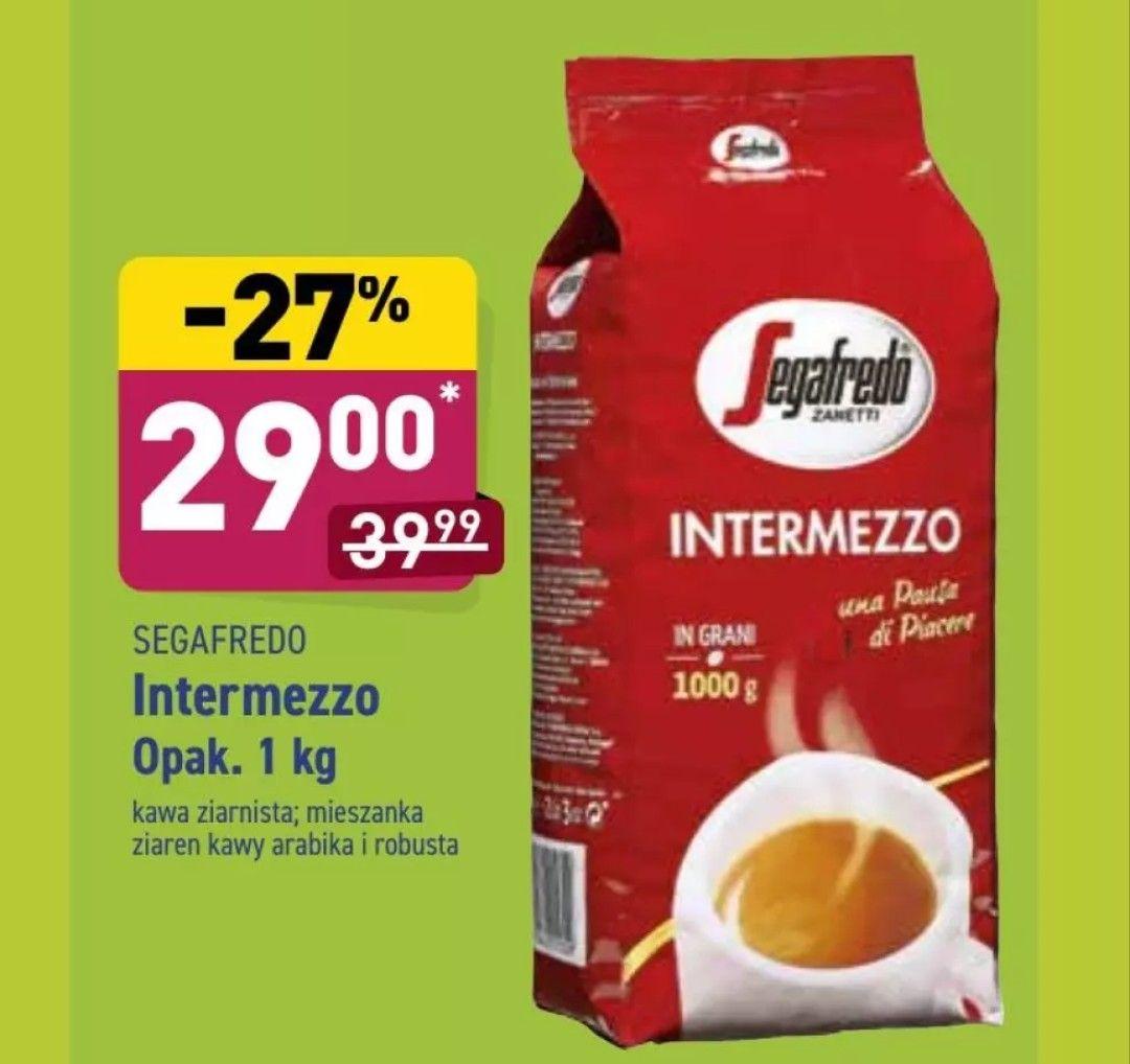 Kawa ziarnista Segafredo Intermezzo 1 kg ALDI