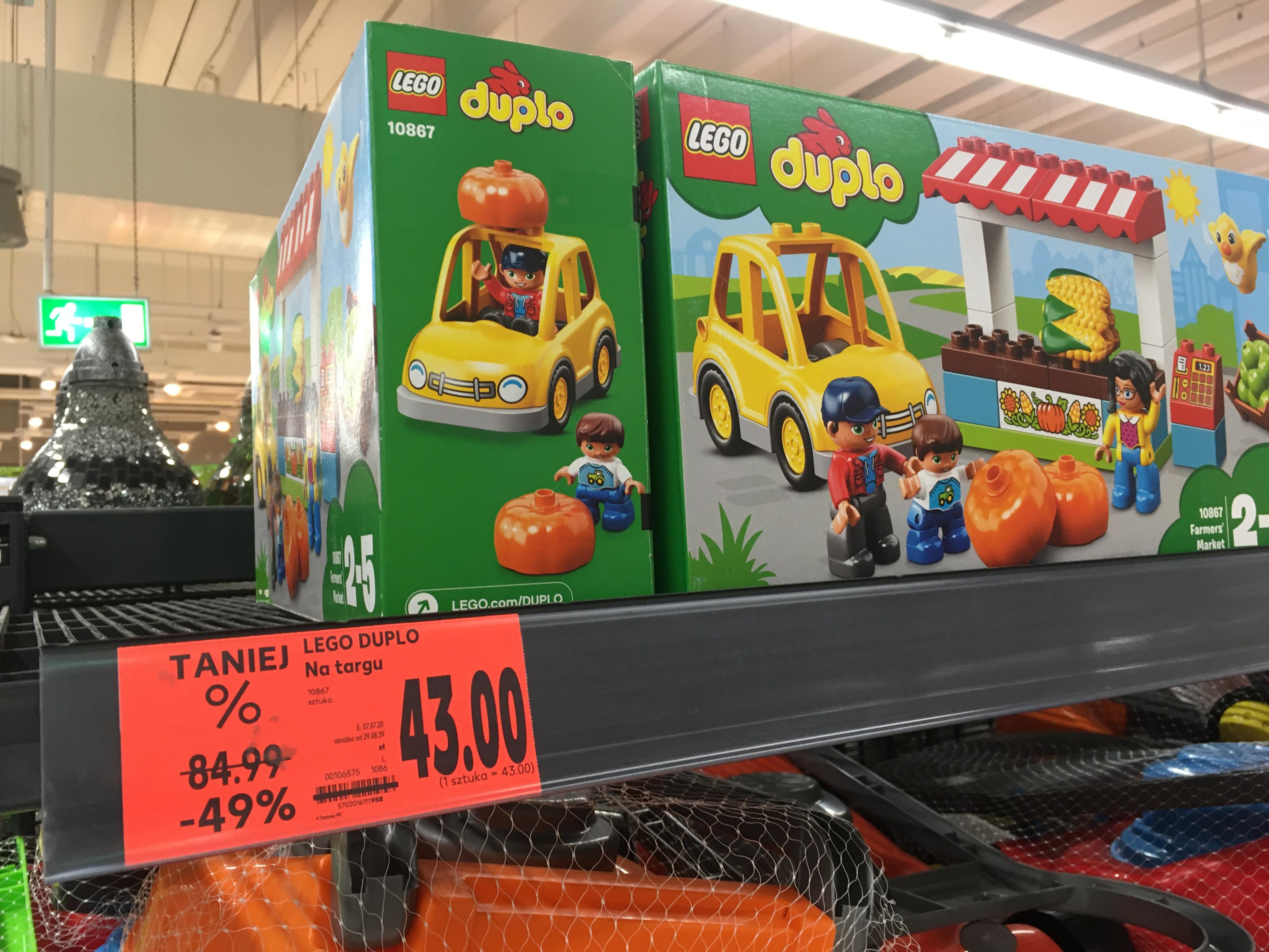 LEGO Duplo Na Targu (Kaufland Bratysławska Kraków)