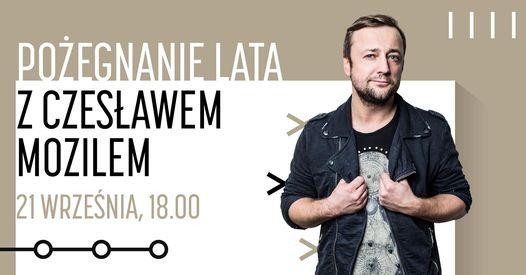 """Bezpłatny koncert on-line """"Pożegnanie lata z Czesławem Mozilem"""" Facebook"""