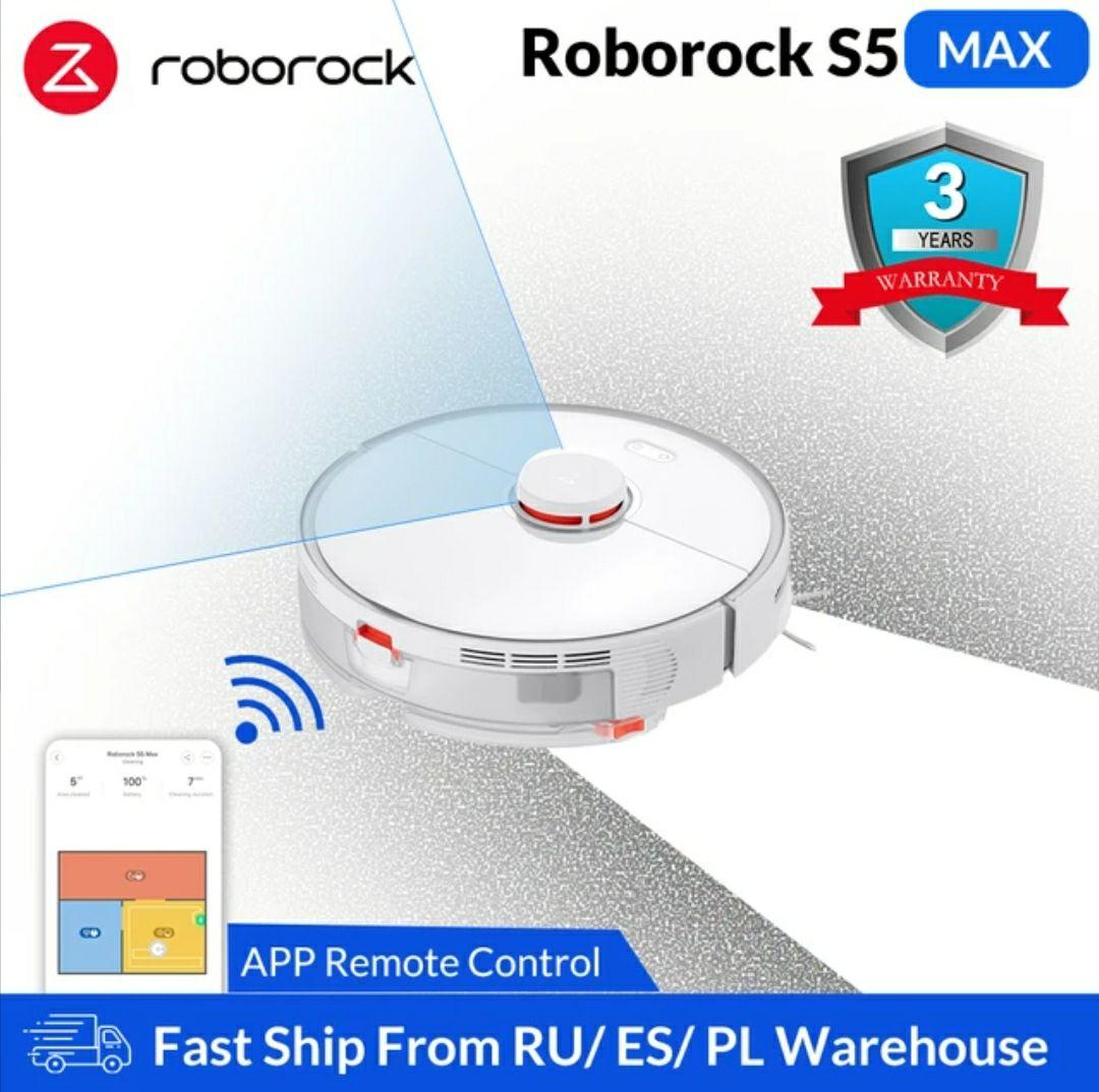 Roborock S5 Max z dostawą z PL @Aliexpress