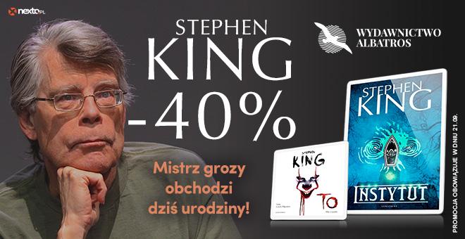 Ebooki i audiobooki Stephena Kinga w promocji z okazji 73 urodzin autora @Nexto