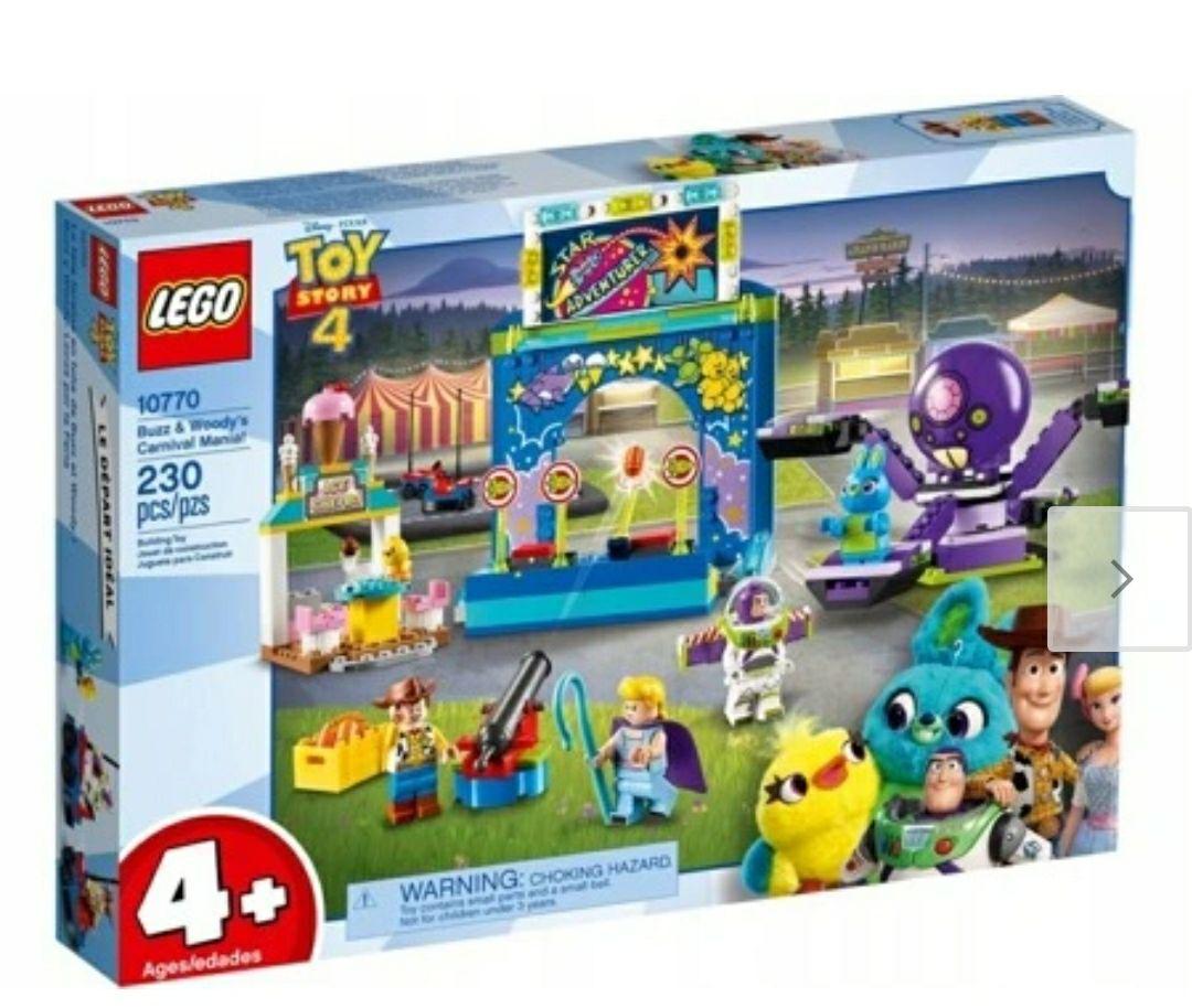 Selgros LEGO szaleństwo Chudego i Buzza Toy Story 4 10770