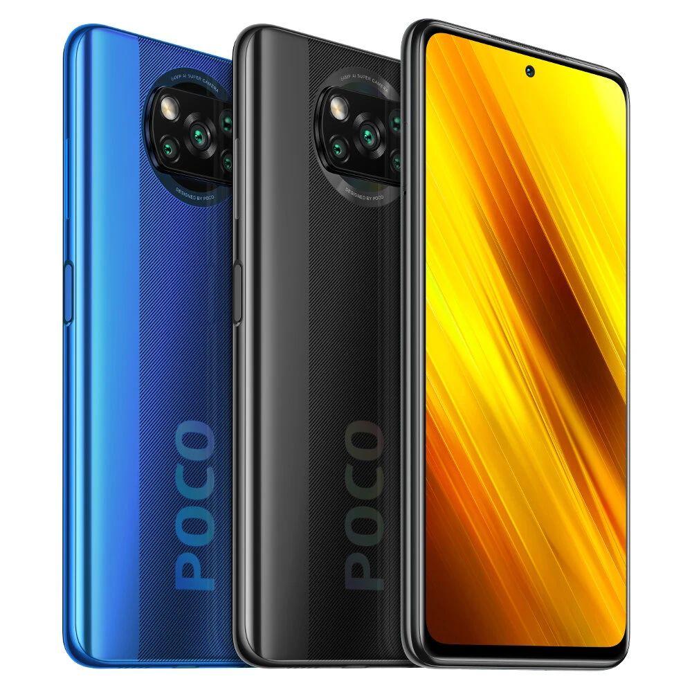 POCO X3 NFC Wersja globalna Snapdragon 732G 6 GB 64 GB 6,67 cala. 229$. Przesyłka 3,49$