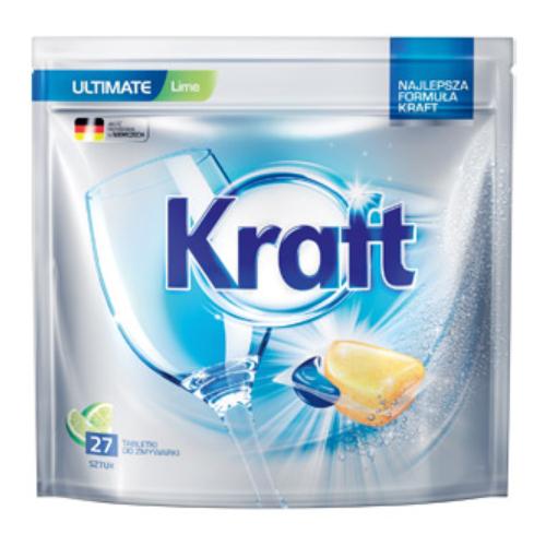 Tabletki do zmywarki Kraft Ultimate za 12,99 przy zakupie 2 op @Biedronka