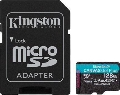 Karta Kingston MicroSDXC Flash card 128GB Canvas Go Plus