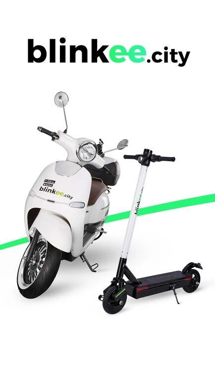 Blinkee 10min jazdy za darmo - hulajnoga elektryczna.