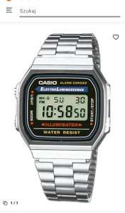 Zegarek Casio Collection A168WA-1YES