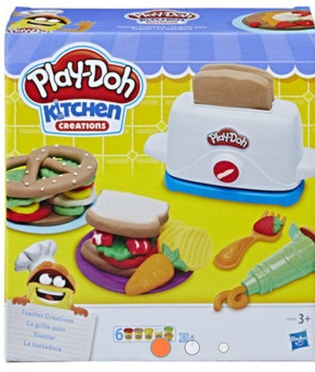 Play doh tostowe szaleństwo