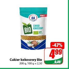 Cukier kokosowy Bio 200g 4,99 zł|Przyprawa do ogórków 45g 0,79 zł @Dino