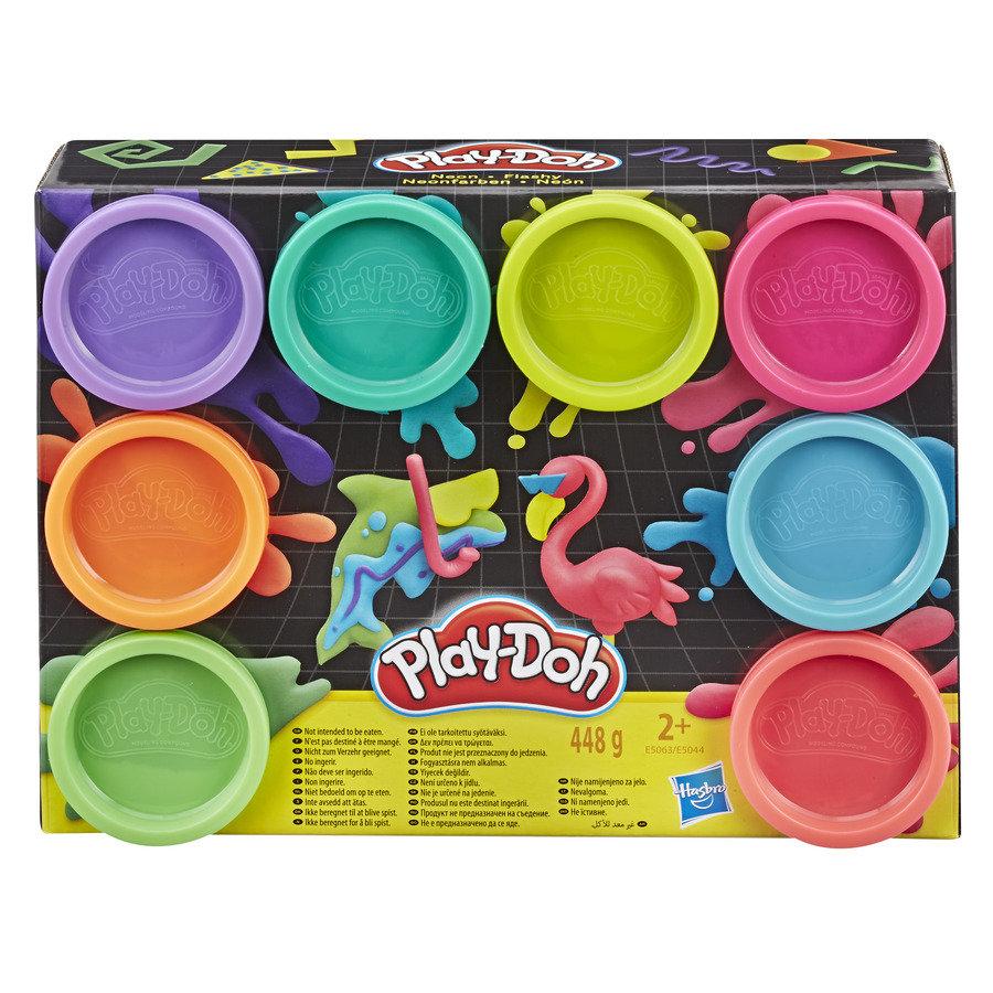Ciastolina Play-Doh Neon 8-pak za 10,99zł @ Empik