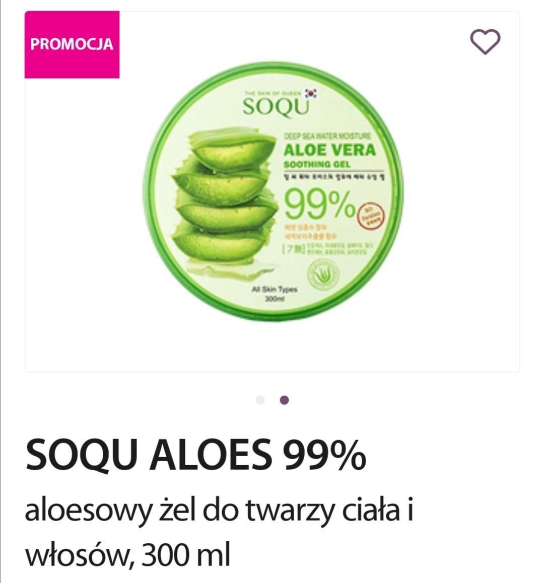Żel Aloesowy 99% SOQU ALOES 300ML