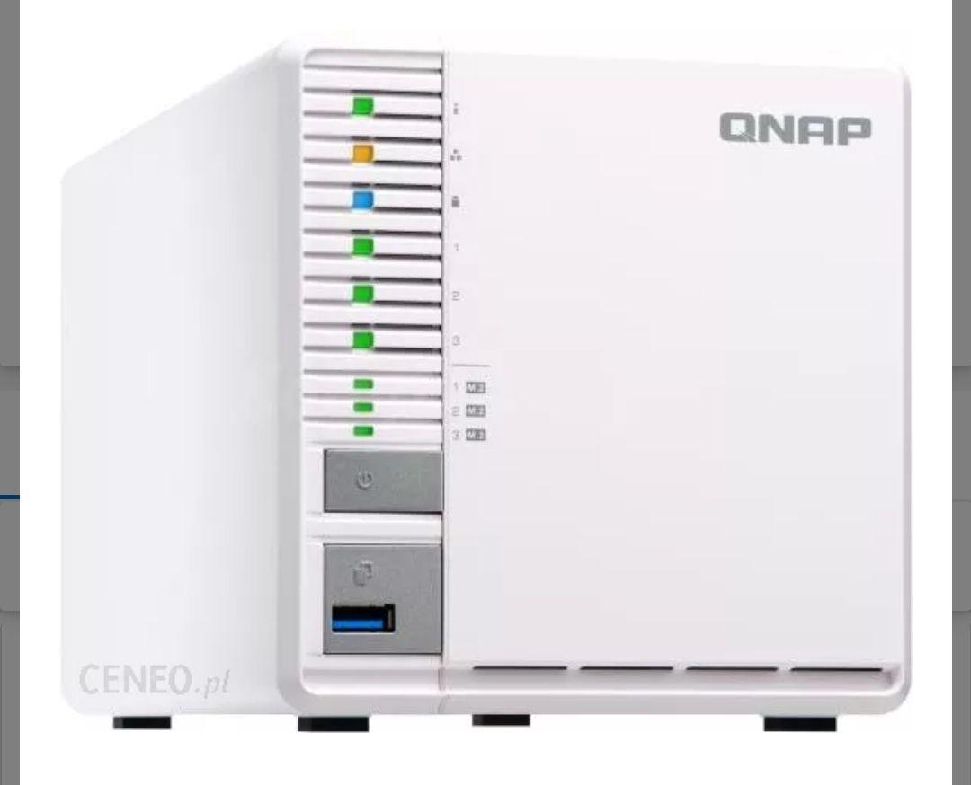 QNAP 332X/2GB NAS 3-zatokowy (HDD) + 3xM.2 SSD @iBOOD