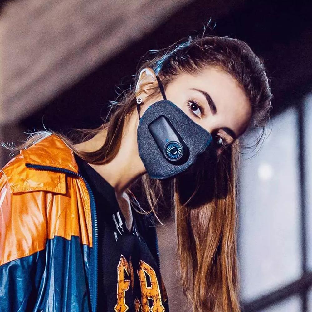 Elektryczna maska antysmogowa Xiaomi Purely pm 2.5