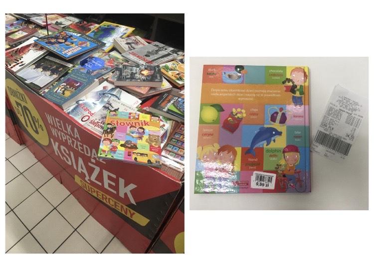 Wyprzedaż książek Carrefour