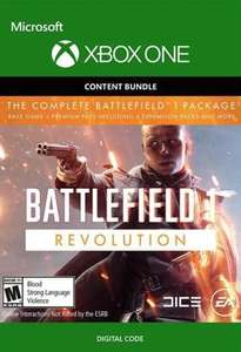 Battlefield 1 Revolution + Battlefield 1943 (XONE) @CDkeys