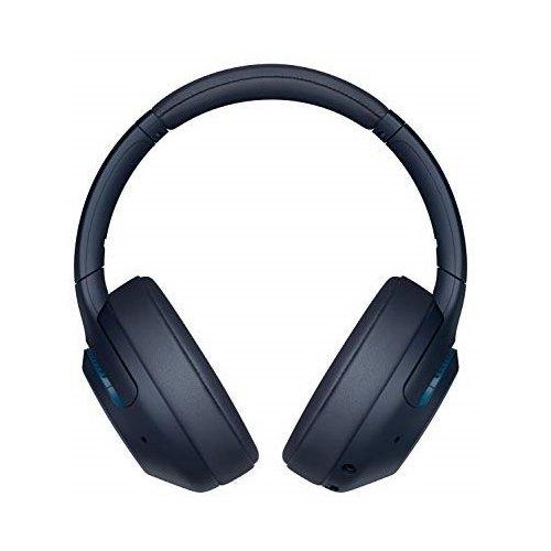 Słuchawki bezprzewodowe SONY WH-XB900N (BT, Aktywna Redukcja Szumów, 30h na baterii) @ Media Expert