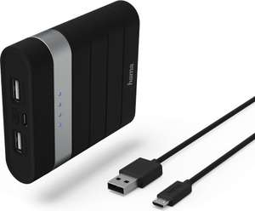 "Powerbank Hama ""Soft Touch"" Power Pack, 10400 mAh"
