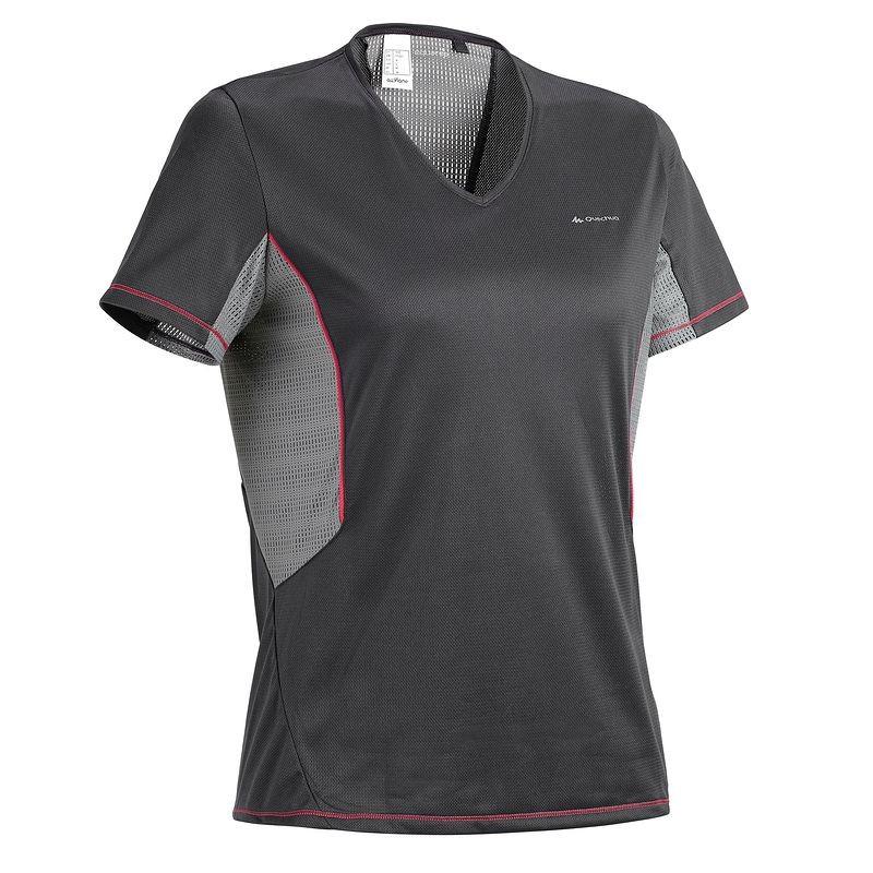 Damska koszulka turystyczna 50% taniej @ Decathlon