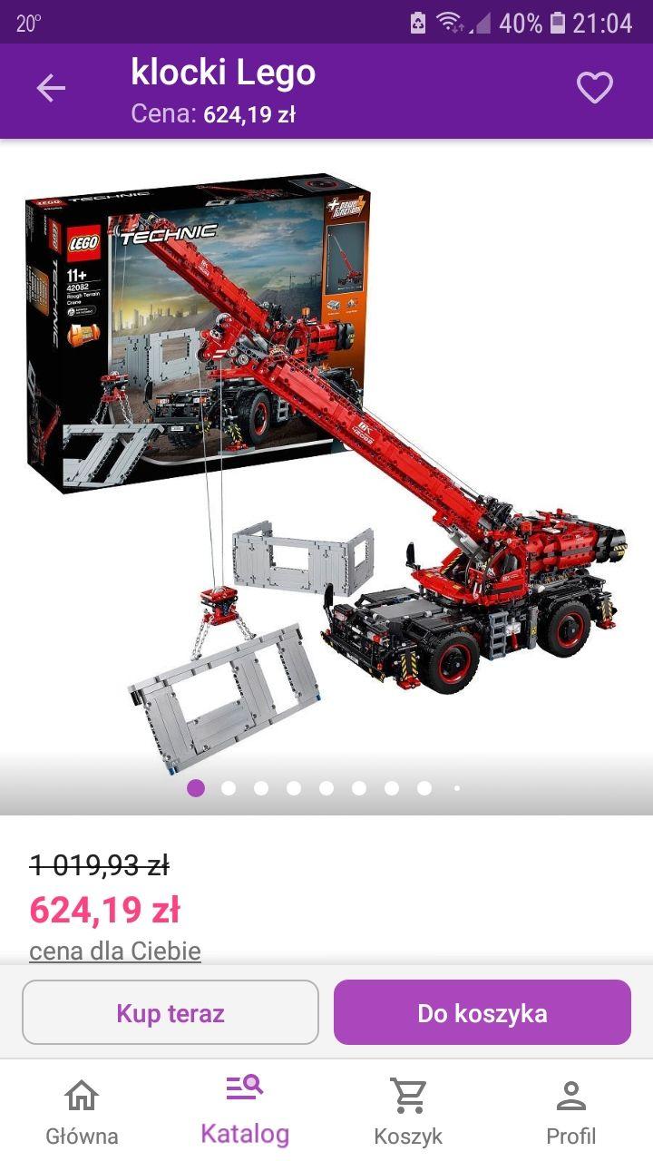 LEGO Technic 42082 - Dźwig