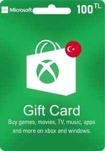 Xbox live gift card 100 TRY