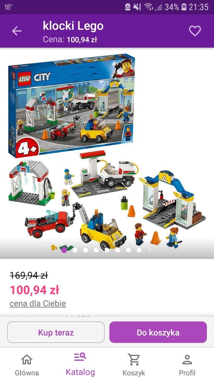 LEGO City 4+ 60232 - Centrum motoryzacyjne