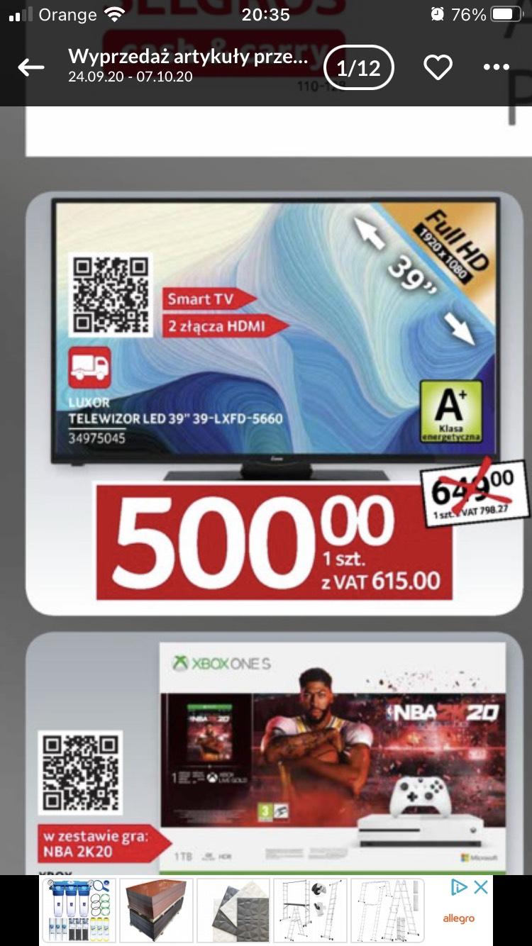 Telewizor LUXOR LED 39 Smart TV