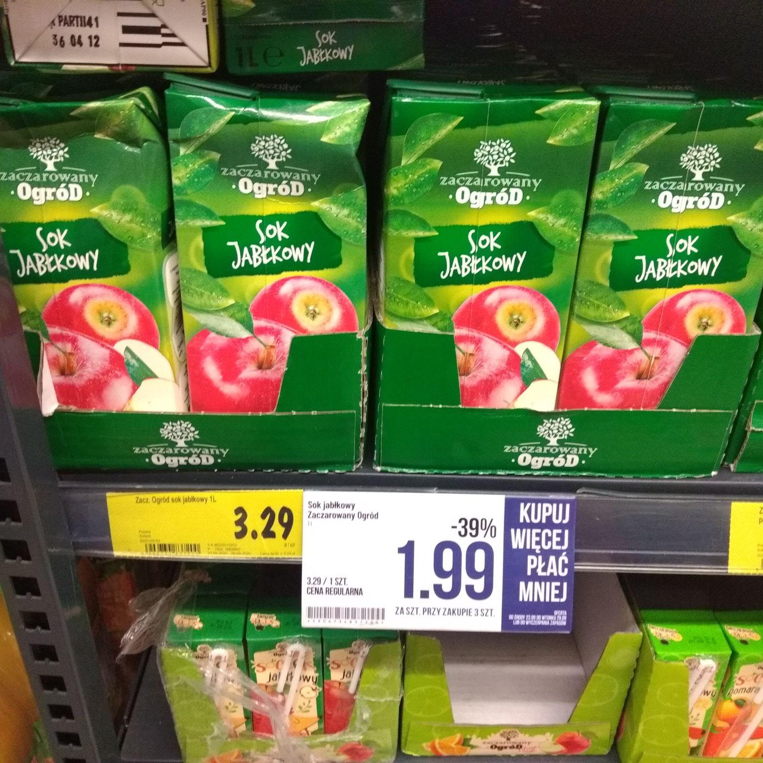 Sok Jabłkowy 1L Polomarket